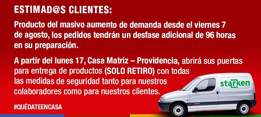 Despacho a todo CHILE y Santiago !!!!