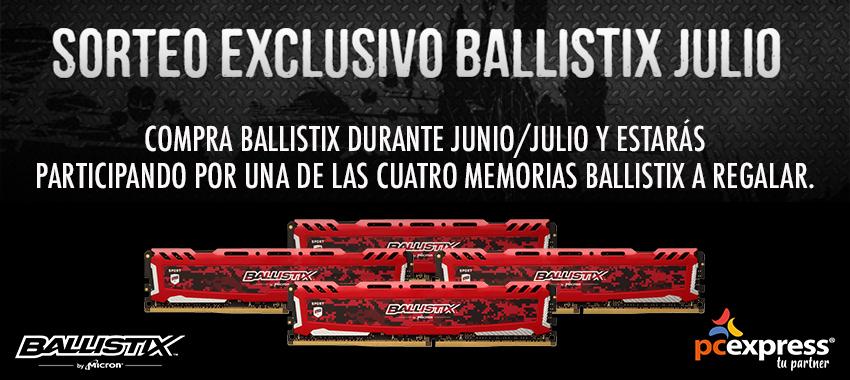 Sorteo Ballistix