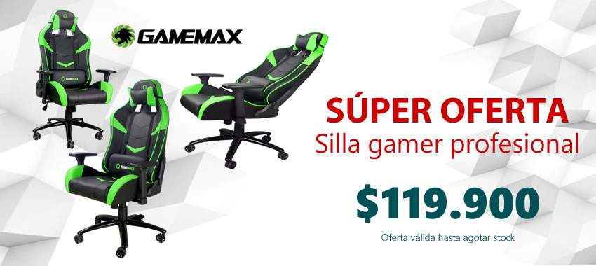 Sillas Gamer Gamemax