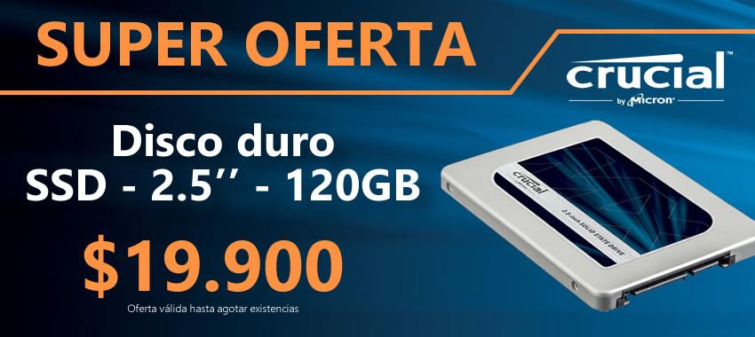 Crucial SSD 120gb