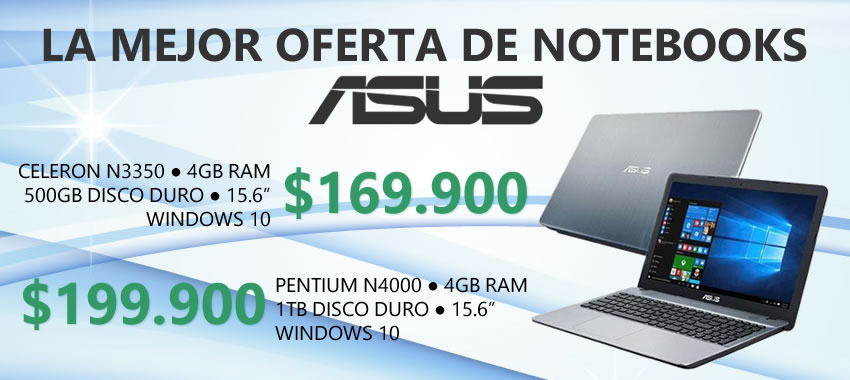 Notebooks Asus