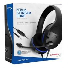 AUDIFONO GAMER HYPERX Stinger Core Para consola PS4 3.5mm cable 1.3m P/N HX-HSCSC-BK