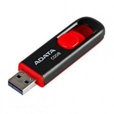 PENDRIVE ADATA 16GB DASHDRIVE C008 NEGRO ROJO P/N AC008-16G-RKD