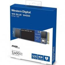 DISCO WESTERN DE ESTADO SOLIDO 500GB SN550 BLUE M.2 2280 NVMe PCIEx P/N WDS500G2B0C