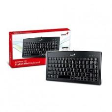 MINI TECLADO GENIUS LUXEMATE 100 USB BLACK ESPAÑOL P/N 31300725101