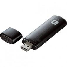 ADAPTADOR USB WIRELESS D-Link AC1200 DWA USB 2.0 802.11a, 802.11b/g/n, 802.11ac P/N DWA-182