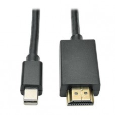 CABLE TRIPPLITE MINIDISPLAY PORT A HDMI M/M  1.8M P/N P586-006-HDMI