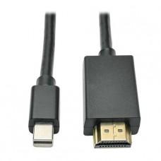 CABLE TRIPPLITE MINIDISPLAY PORT A HDMI M/M  1.8M P/N P586-006-HDMI