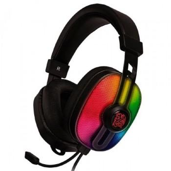 AUDIFONO GAMER THERMALTAKE G100 ANALOGO RGB 3,5MM P/N HT-PLS-ANECBK-28