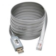 CABLE USB A RJ45 TRIPPLITE CISCO SERIAL ROLLOVER CABLE P/N U209-006-RJ45-X