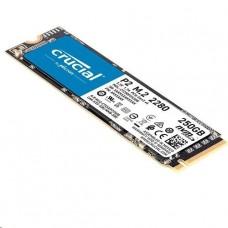 DISCO CRUCIAL DE ESTADO SOLIDO P2 250GB 3D NAND NVMe PCIex M.2 SSD P/N CT250P2SSD8