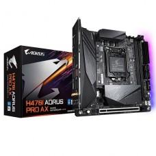 PLACA MADRE GIGABYTE H470I AORUS PRO AX ITX s1200