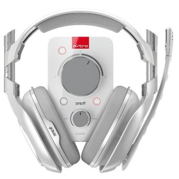 AUDIFONO GAMER PROFESIONAL LOGITECH ASTRO A40TR+MIXAMP WHITE P/N 939-001597