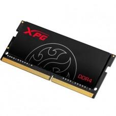 MEMORIA SODIMM DDR4 8GB 2666 ADATA GAMMIX HUNTER BLACK P/N AX4S266638G18-SBHT