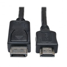 ADAPTADOR  DE CABLE TRIPPLITE  DisplayPort A HDMI (M/M), 1.8 MTS P/N P582-006