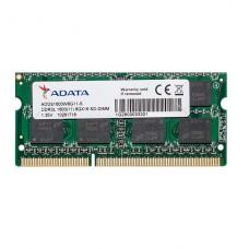MEMORIA SODIMM ADATA DDR3 8GB 1600 DDR3 1.35V P/N ADDS1600W8G11-S