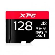 MEMORIA MICROSD 128GB ADATA A2 V30 CON ADAPTADOR SD P/N AUSDX128GUI3XPGA2-R