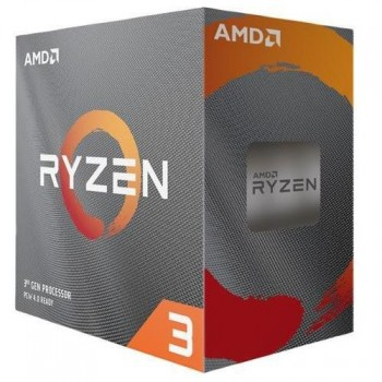 PROCESADOR AMD RYZEN 3 3100 3.6GHZ 4 CORE 8 THREAD sAM4 P/N 100-100000284BOX