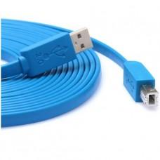 CABLE DE IMPRESORA USB 3M PLANO A/B