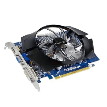 TARJETA DE VIDEO GEFORCE GIGABYTE GT730 2GB DDR5 PCIeX P/N GV-N730D5-2GI