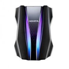 DISCO DURO EXTERNO 1TB ADATA GAMING BLACK RGB USB 3.2 P/N AHD770G-1TU32G1-CBK