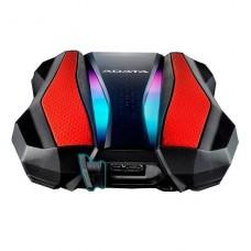 DISCO DURO EXTERNO 2TB ADATA GAMING RED RGB USB 3.2 P/N AHD770G-2TU32G1-CRD
