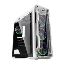 GABINETE GAMEMAX OPTICAL G510WT SIN FUENTE RGB AURUS ATX