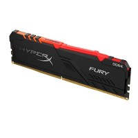 MEMORIA UDIMM DDR4 HYPERX FURY BLACK 16GB 3000MHZ RGB P/N HX430C15FB3A/16G