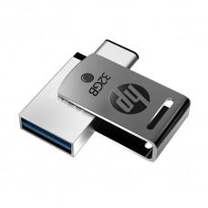 PENDRIVE HP 32GB X5000M OTG TYPE-C P/N HP-FD5000M-32