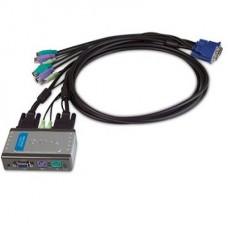 KVM DLINK 2PT KVM-121 PS2 CON BOTON