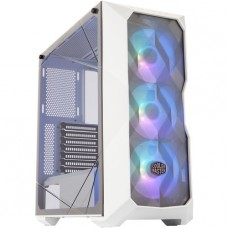 GABINETE COOLER MASTER MASTERBOX TD500 MESH WITH CONTROLLER BLANCO SIN FUENTE P/N MCB-D500D-WGNN-S01