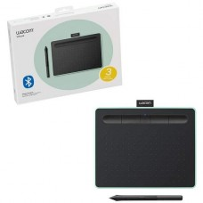 TABLETA DIGITALIZADORA WACOM INTUOS CREATIVE PEN BLUETOOTH SMALL GREEN P/N CTL4100WLE0