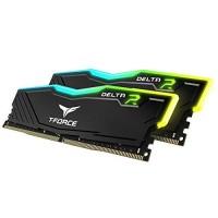 MEMORIA DDR4 T-FORCE DELTA R BLACK 16GB (KIT 2X8GB)  3200 MHZ P/N TF3D416G3200HC16CDC01