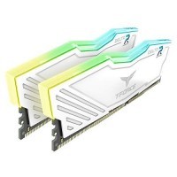 MEMORIA DDR4 T-FORCE DELTA R WHITE 16GB (KIT 2X8GB) 3200 MHZ P/N TF4D416G3200HC16CDC01