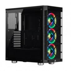 GABINETE GAMER CORSAIR iCUE Crystal 465X RGB Black P/N CC-9011188-WW