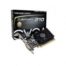 TARJETA DE VIDEO GEFORCE EVGA G210 1GB DDR3 PCIeX P/N 01G-P3-1312-LR