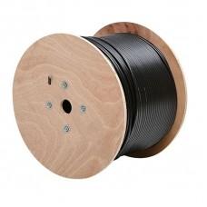 CABLE DE RED CAT6, 100% COBRE, 24 AWG, CCA, 4x2x0,52MM, CAJA 305 MTS EXTERIOR BLINDADO P/N 0210112