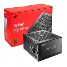 FUENTE DE PODER ADATA XPG PYLON 650W BRONZE P/N PYLON650B-BKCEU