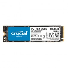 DISCO CRUCIAL DE ESTADO SOLIDO P2 1TB 3D NAND NVMe PCIex M.2 SSD P/N CT1000P2SSD8