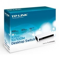 SWITCH 8 PUERTOS 10/100 TP-LINK P/N TL-SF1008D