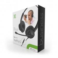 AUDIFONO MICROFONO KLIP XTREME OVER-EAR VOL-MIC USB P/N KCH-911
