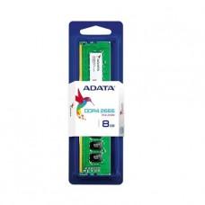 MEMORIA UDIMM DDR4 ADATA 8GB 2666 PC21300 BOX P/N AD4U2666W8G19-S