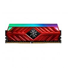MEMORIA UDIMM DDR4 XPG ADATA 8GB 2666 SPECTRIX RGB D41 RED P/N AX4U266638G16-SR41