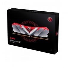 MEMORIA UDIMM DDR4 XPG ADATA 8GB 3000 GAMMIX D30 RED P/N AX4U30008G16A-SR30