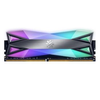 MEMORIA UDIMM DDR4 XPG ADATA 8GB 3200 SPECTRIX RGB D60 P/N AX4U32008G16A-ST60