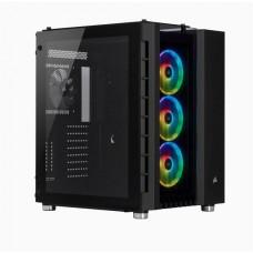 GABINETE CORSAIR CRYSTAR 680X RGB ATX SIN FUENTE P/N CC-9011168-WW