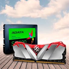 PROMOCION ADATA MEMORIA XPG 8GB 3200MHZ + DISCO SOLIDO SATA 2,5