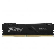 MEMORIA DDR4 16GB KINGSTON KINGSTON FURY BEAST 3200MHZ  P/N KF432C16BB1/16