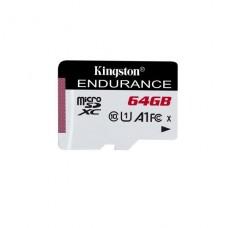MEMORIA KINGSTON HIGH ENDURANCE MICROSD 64GB A1 / UHS-I U1 / CLASS10 P/N SDCE/64GB