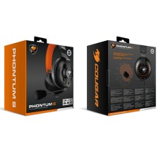 AUDIFONO GAMER COUGAR PHONTUM S PC / CONSOLA / MOBILE 3.5MM P/N 3H500P53T.0001
